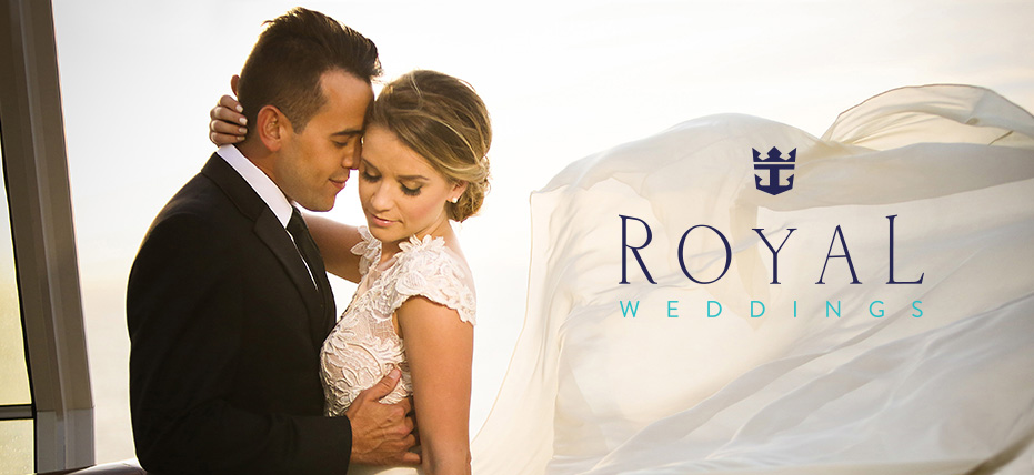 Royal weddings celebrate your wedding with us royal for Royal caribbean cruise wedding