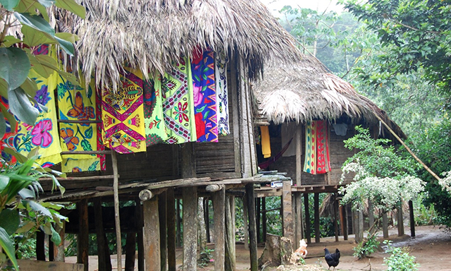 Authentic Expedition to an Embera Indian Village
