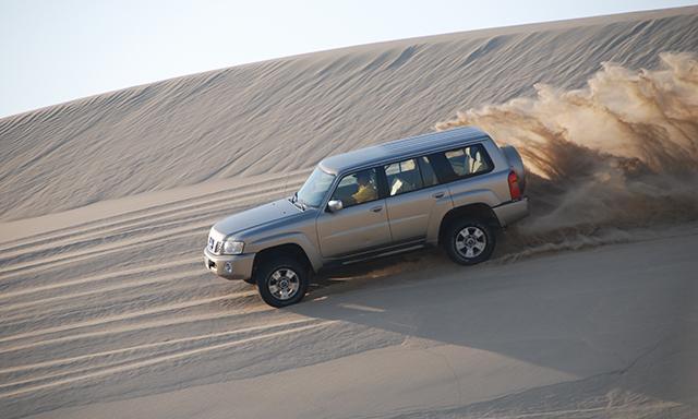 Desert Safari With Beach Break