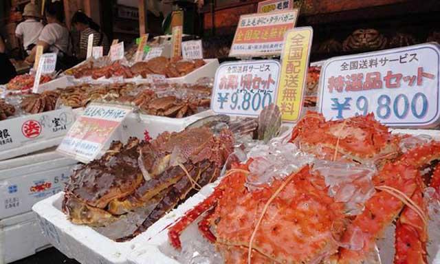 Morning Market, Mount Hakodate & Motomachi
