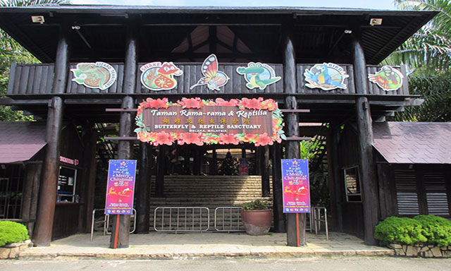 Butterfly Farm, Reptile Sanctuary and Malacca Old Town