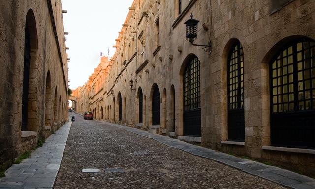 Historic Rhodes Walking Tour