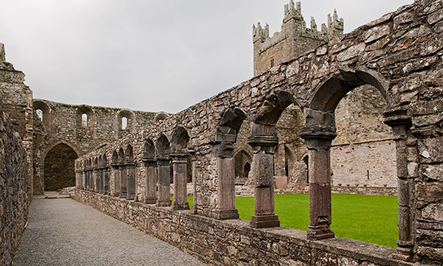 Rural Ireland and Jerpoint Abbey