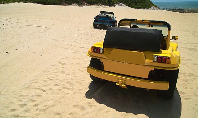 Dune Buggy and Beach Break