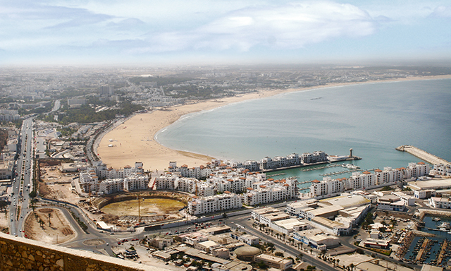 Panoramic Agadir City Drive