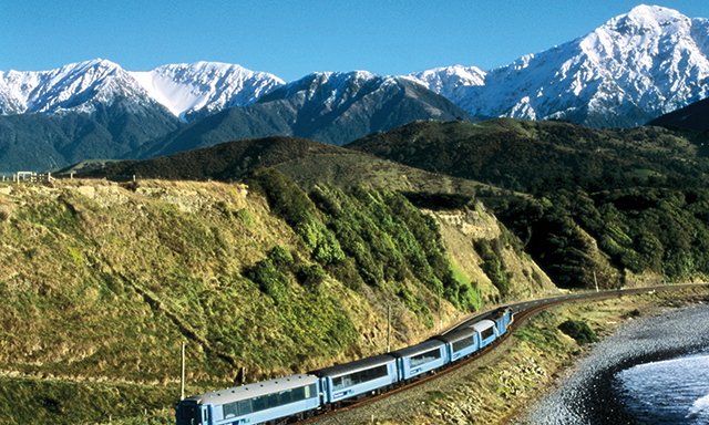 A TranzAlpine Express Railway