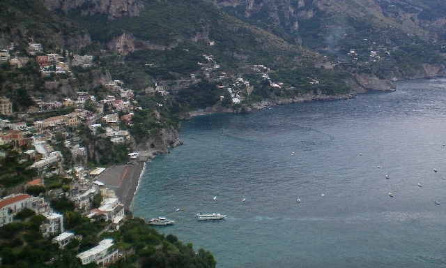 Amalfi Coast by Motor Launch & Pompeii