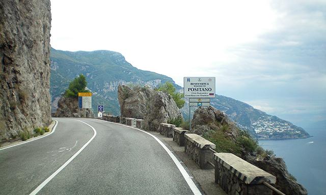 Amalfi Coastal Drive & Pompeii