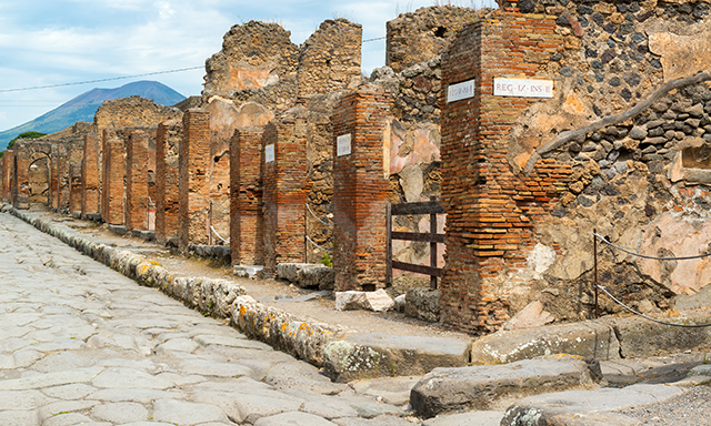 Exploration of Pompeii