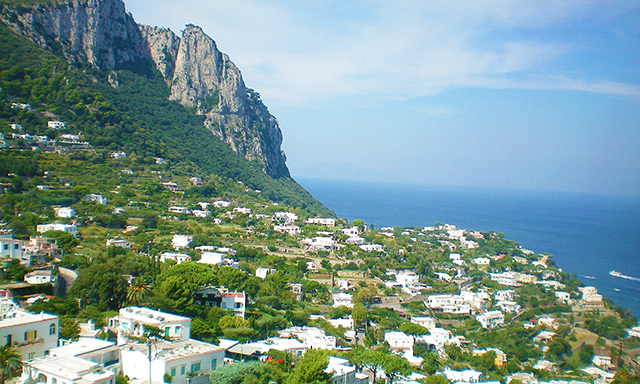 Island of Capri without Lunch