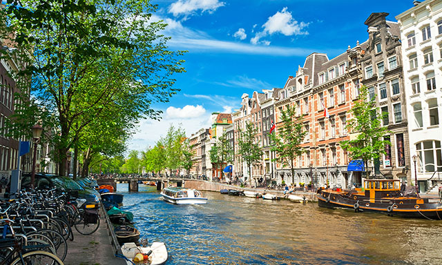 Amsterdam, Canal Cruise & Free Time