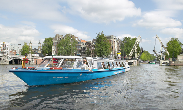 Panoramic Amsterdam, Canal Cruise & Free Time