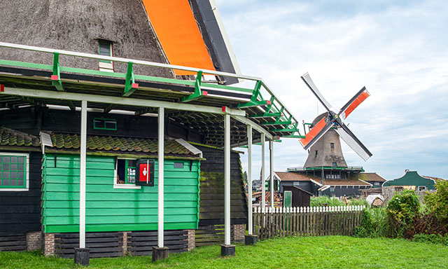 Rural Holland and Amsterdam