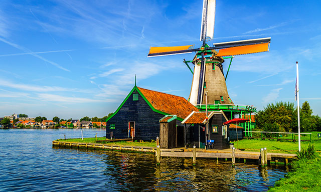 Accessible Amsterdam, Dutch Villages, and Windmills