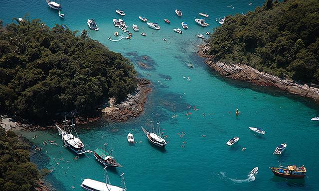 Schooner & Snorkeling Ilha Grande