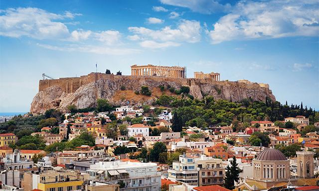 Athens & Piraeus Open Air Sightseeing Tour