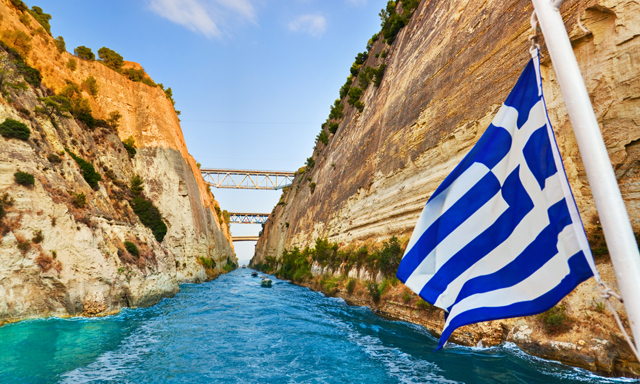 Ancient Corinth and Canal Cruise Adventure