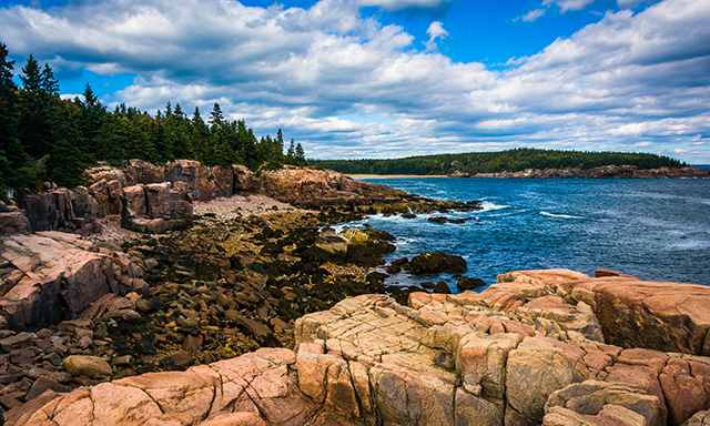 Panoramic Acadia National Park and Lobster Lunch