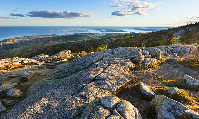 Cadillac Mountain Scenic Panorama and Bar Harbor Highlights