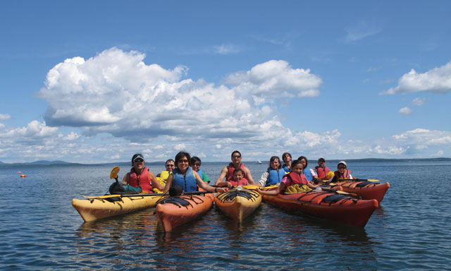 Guided Sea Kayak Tour of Frenchman Bay