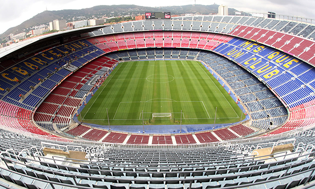 FC Barcelona's Camp Nou Stadium Tour