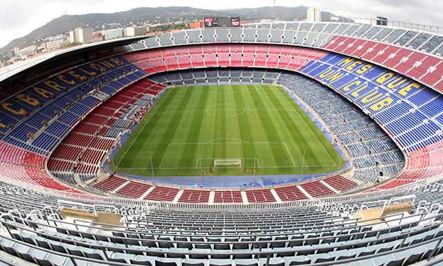 FC Barcelona's Camp Nou Stadium Tour