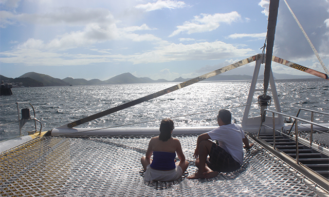 1a5d0a16a2 Catamaran Fan-ta-sea to Nevis with Snorkel