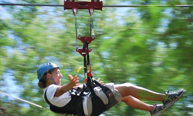 A Sky Safari Zipline
