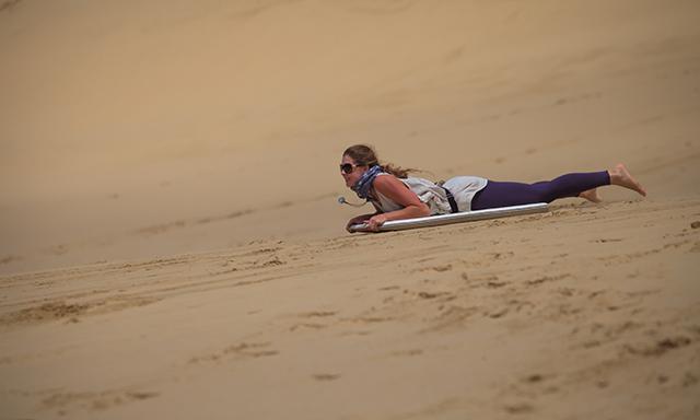 Hokianga Giant Dunes Sandboarding