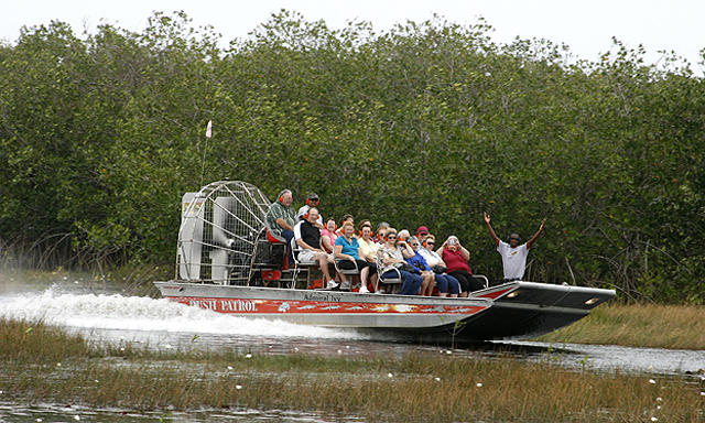 Airboat Adventure & Belize City Tour