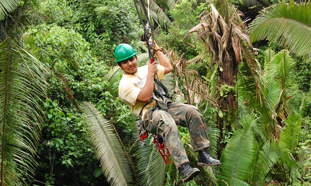 Belize Aerial Trek