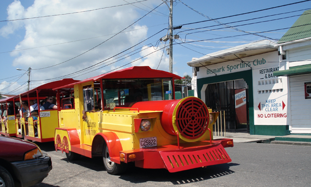 Calypso Train Tour