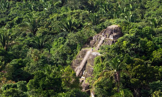 Mayan Palaces Of Cahal Pech