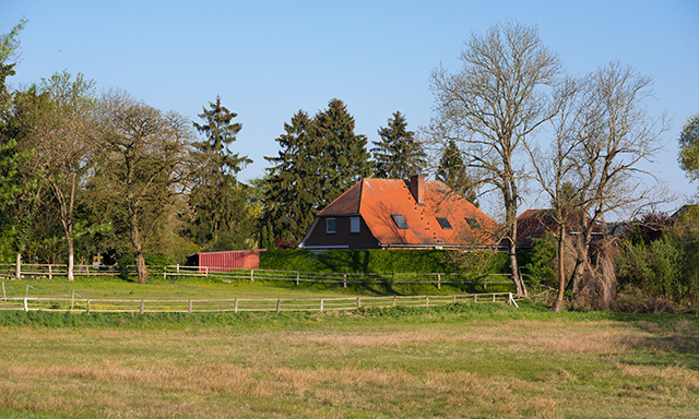 Farming in the Northern German Countryside