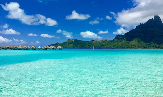 Bora Bora Catamaran Sail
