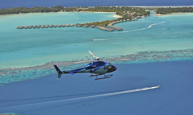 Scenic Bora Bora Helicopter Flight