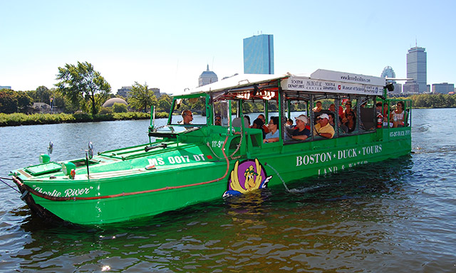Exclusive Boston Duck Tour