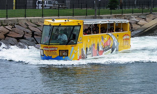 Boston Highlights by Duck Tour