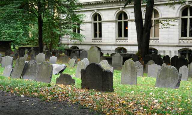 Ghosts and Gravestone Tour