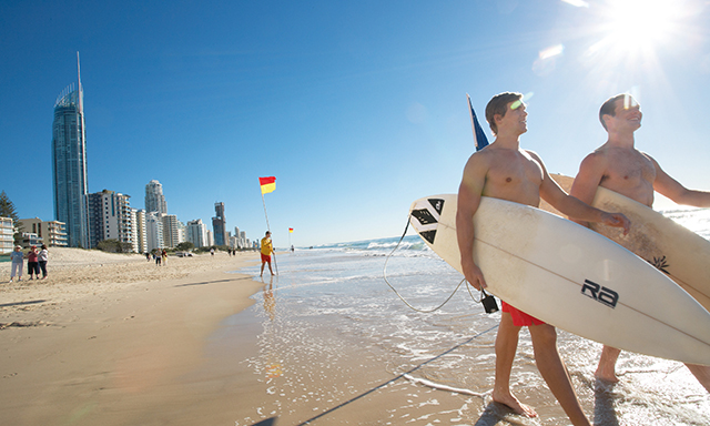Day at the Gold Coast