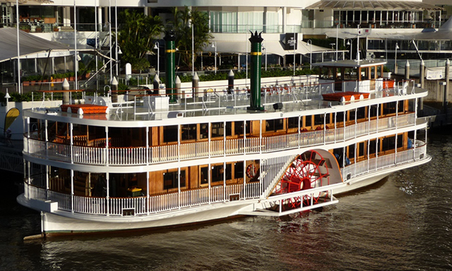 Scenic Paddle Wheeler Cruise