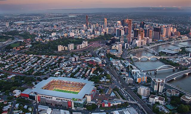 Panoramic Brisbane with Airport Transfer