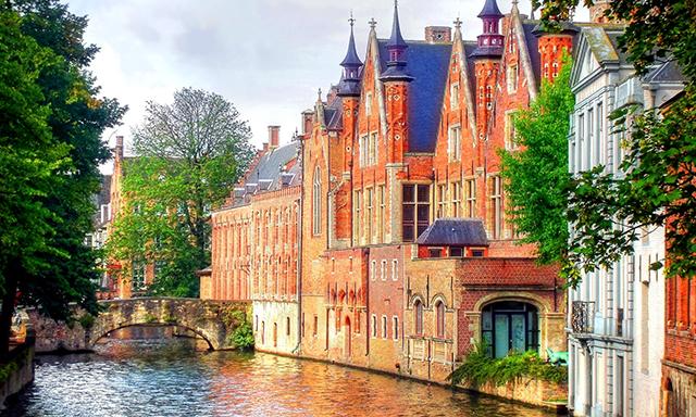 Woman Bruges