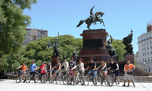 Bike Through the Parks & Plazas of Buenos Aires