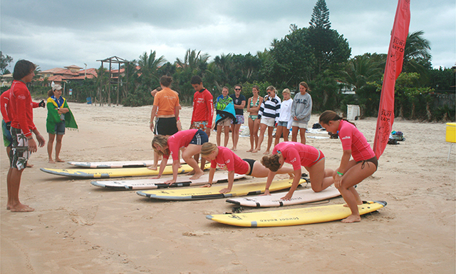 Surfing Lesson in Buzios