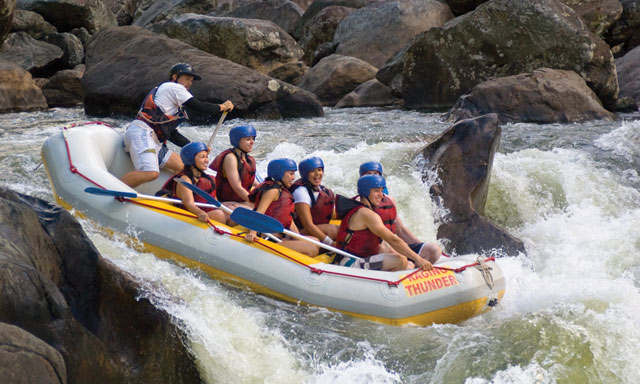 Rainforest Rafting Adventure