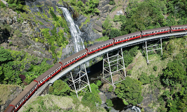 Jungle Train, Kuranda and Skyrail