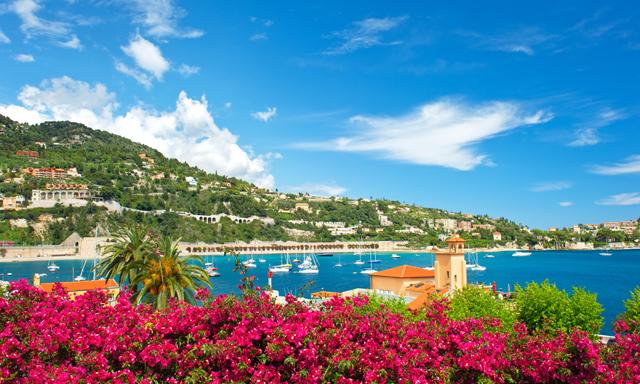 Scenic French Riviera