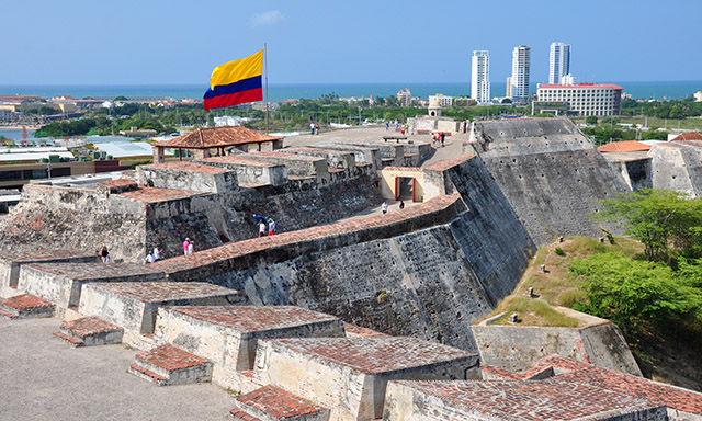 Cartagena Forts and Old Town