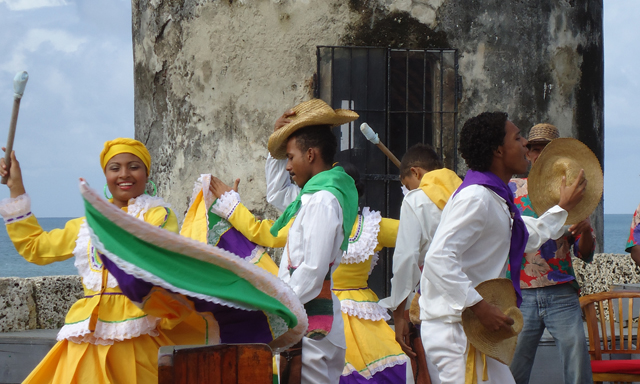 Cartagena City, La Popa Hill, Folkloric Show & Shopping